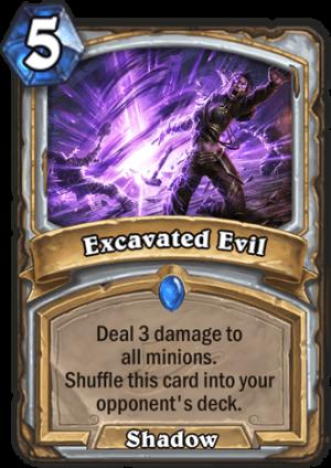 Excavated Evil Card