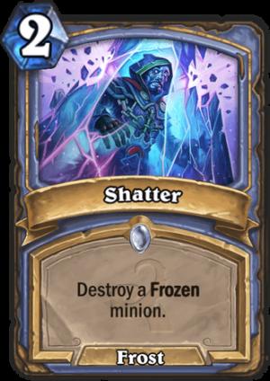 Shatter Card