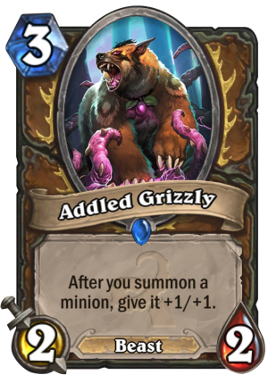Addled Grizzly Card