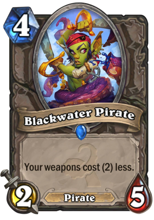 Blackwater Pirate Card