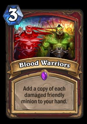Blood Warriors Card