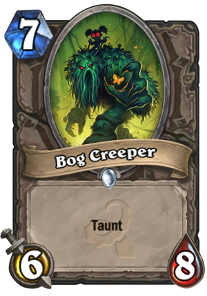 Bog Creeper Card