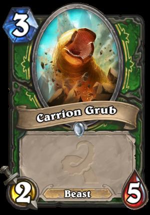 Carrion Grub Card