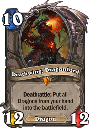 Deathwing, Dragonlord Card
