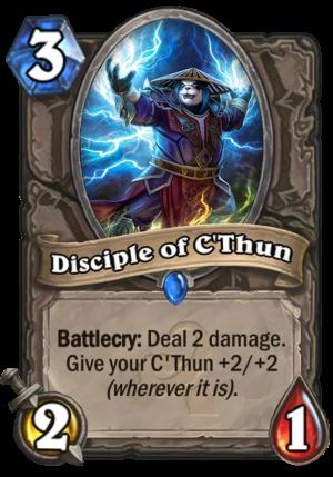 Disciple of C'Thun Card