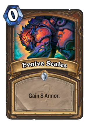 Evolve Scales Card