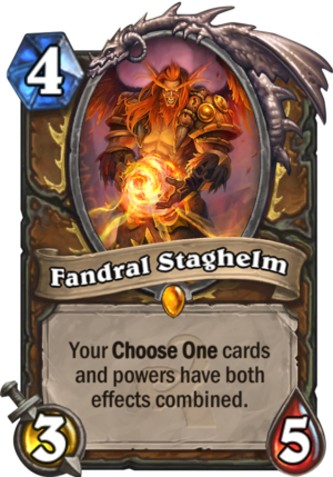 Fandral Staghelm Card