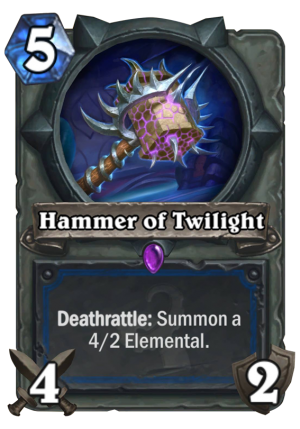 Hammer of Twilight Card
