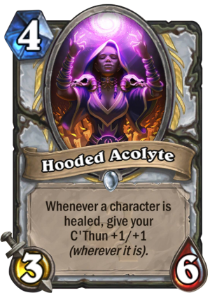 Hooded Acolyte Card