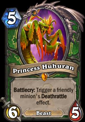 Princess Huhuran Card