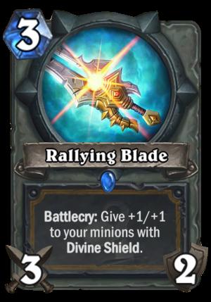 Rallying Blade Card