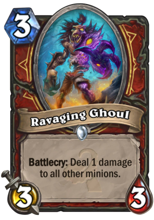 Ravaging Ghoul Card