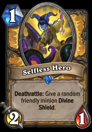 Selfless Hero Card