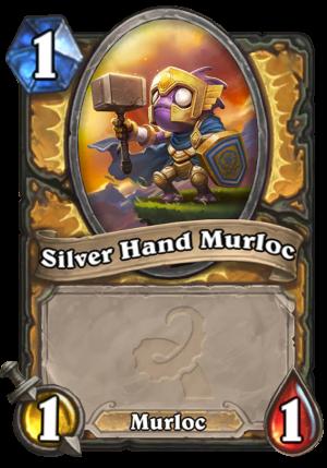 Silver Hand Murloc Card