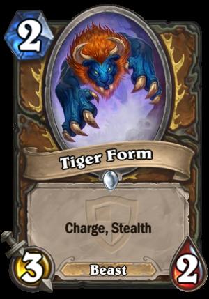 Tiger Form (Fandral) Card
