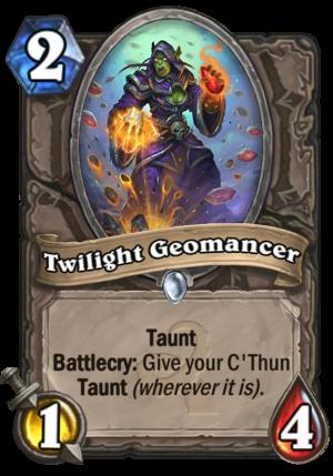 Twilight Geomancer Card