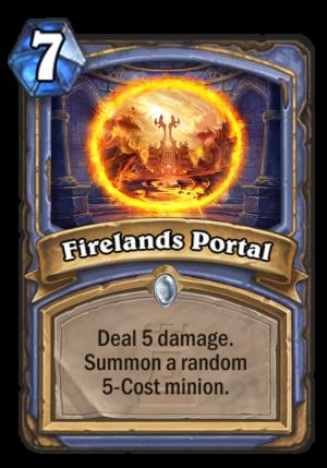 Firelands Portal Card
