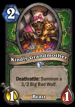 Kindly Grandmother Card