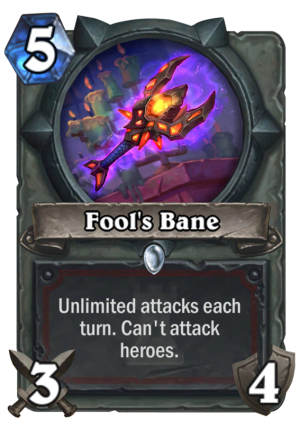 Fool's Bane Card
