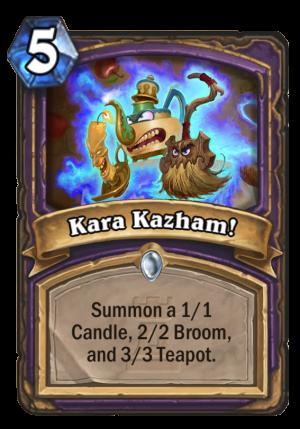 Kara Kazham! Card