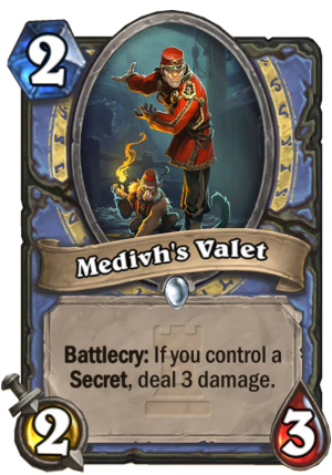Medivh's Valet Card