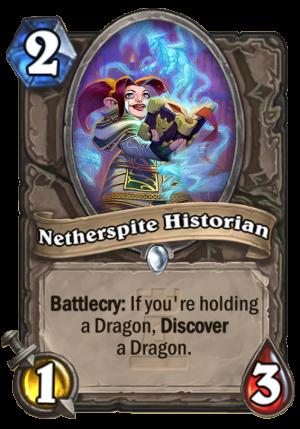 Netherspite Historian Card