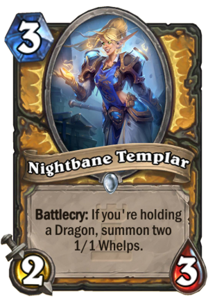 Nightbane Templar Card