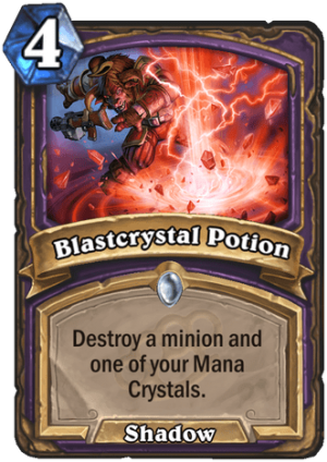 Blastcrystal Potion Card