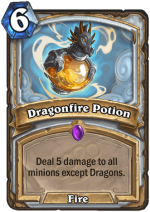 Dragonfire Potion Card