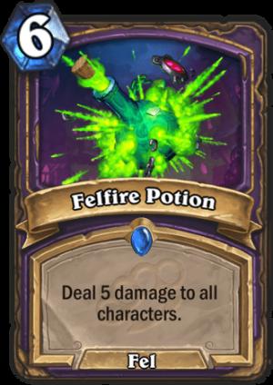 Felfire Potion Card