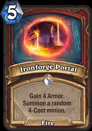 Ironforge Portal Card