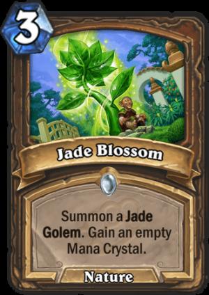 Jade Blossom Card