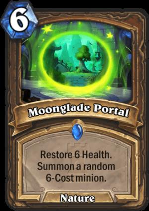 Moonglade Portal Card