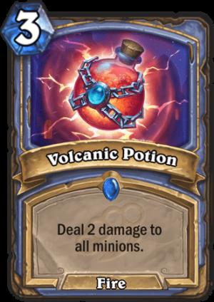 Volcanic Potion Card