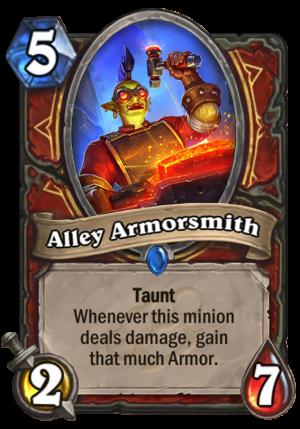 Alley Armorsmith Card