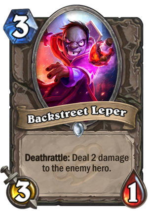 Backstreet Leper Card