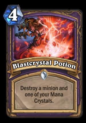 Blastcrystal Potion Card