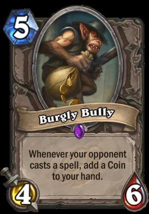 Burgly Bully Card