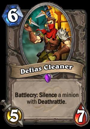 Defias Cleaner Card