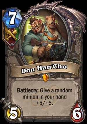 Don Han'Cho Card