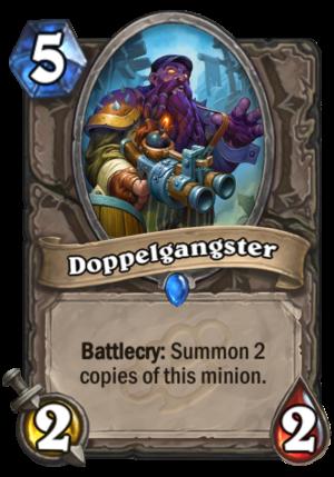 Doppelgangster Card