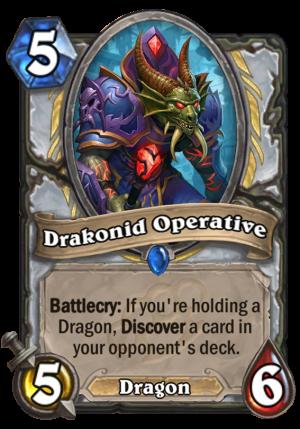 Drakonid Operative Card