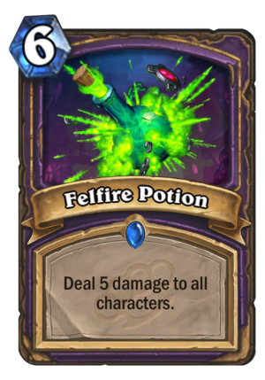 Felfire Potion Card