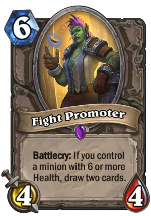 Fight Promoter Card