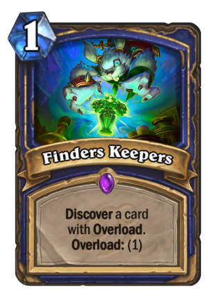 Finders Keepers Card