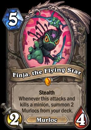 Finja, the Flying Star Card