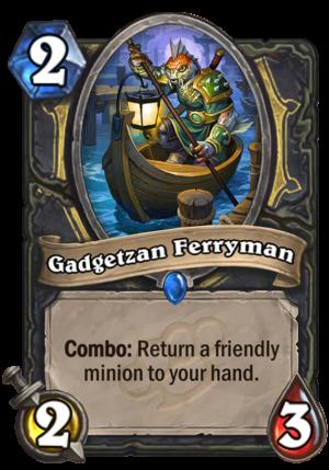 Gadgetzan Ferryman Card