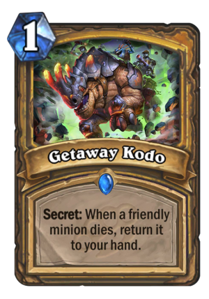 Getaway Kodo Card