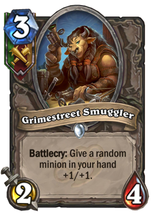 Grimestreet Smuggler Card