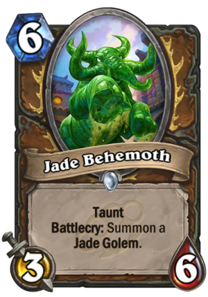 Jade Behemoth Card